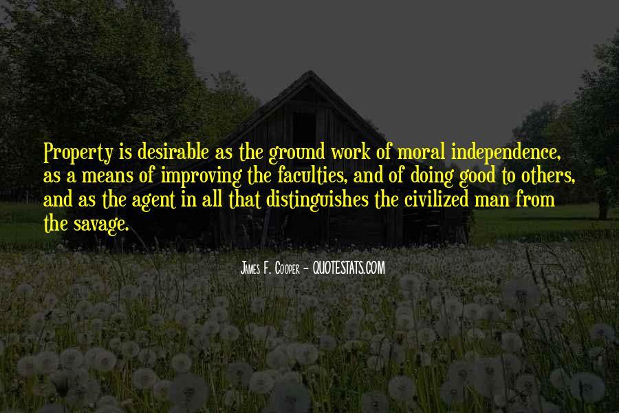 James F. Cooper Quotes #276750