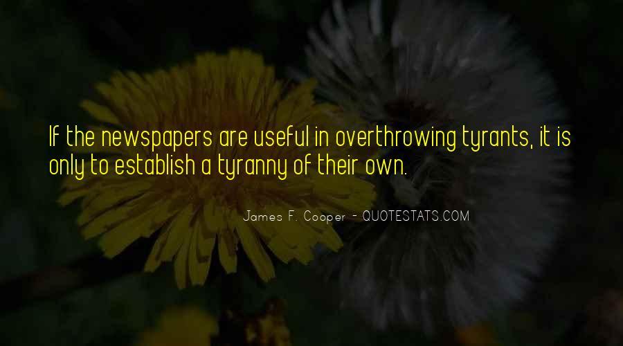 James F. Cooper Quotes #445010