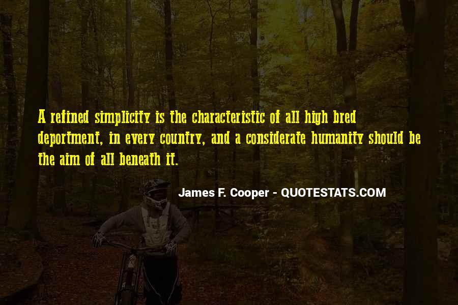 James F. Cooper Quotes #560734