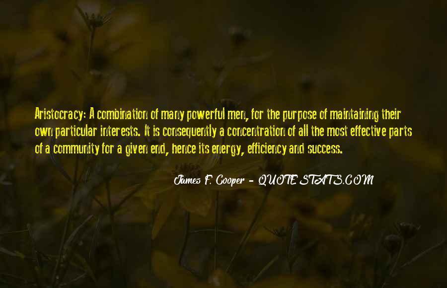 James F. Cooper Quotes #638524