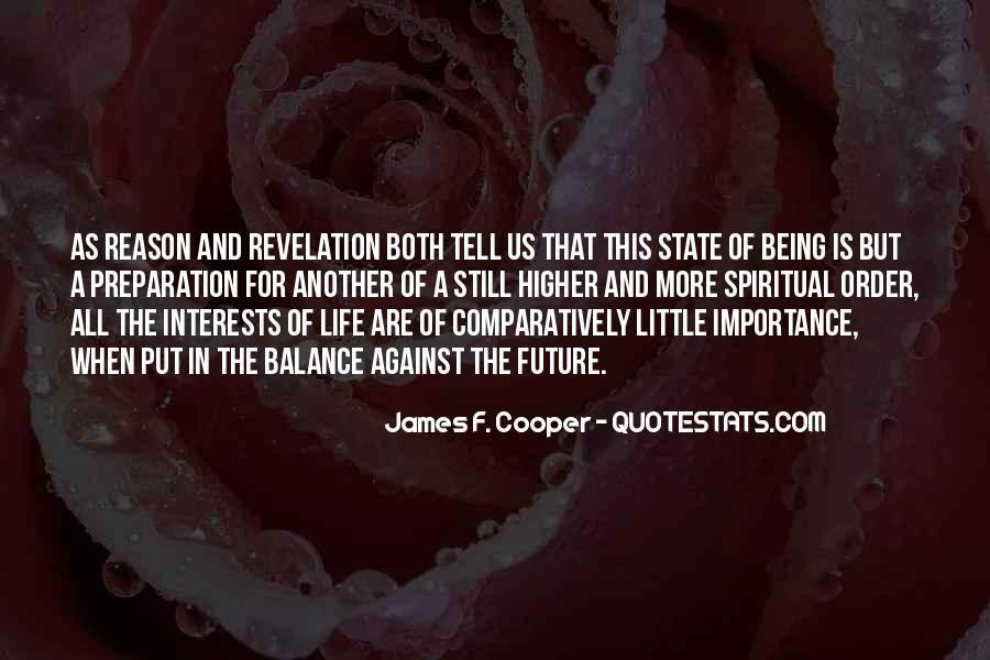 James F. Cooper Quotes #644809