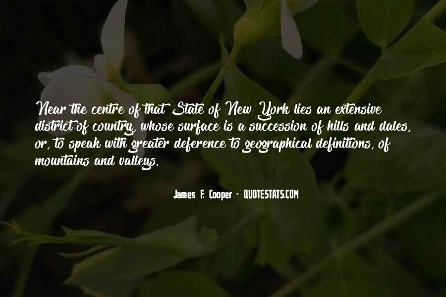 James F. Cooper Quotes #647457