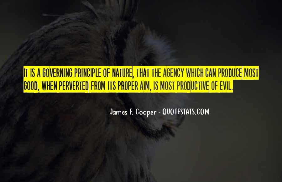 James F. Cooper Quotes #681384