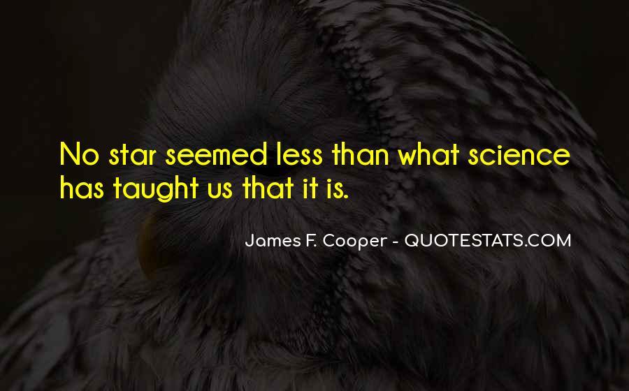 James F. Cooper Quotes #749634