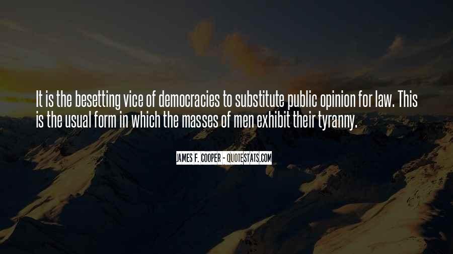 James F. Cooper Quotes #825635