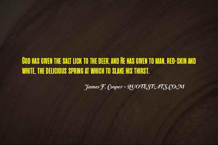 James F. Cooper Quotes #851708