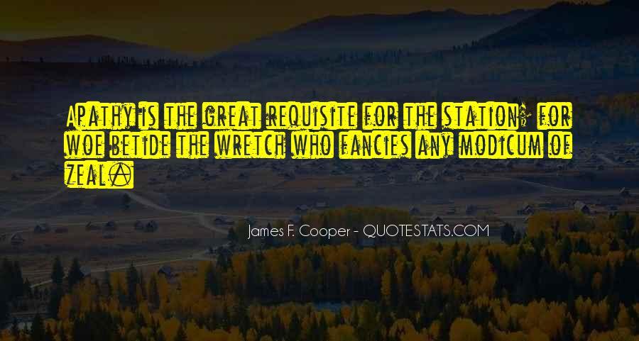 James F. Cooper Quotes #859654