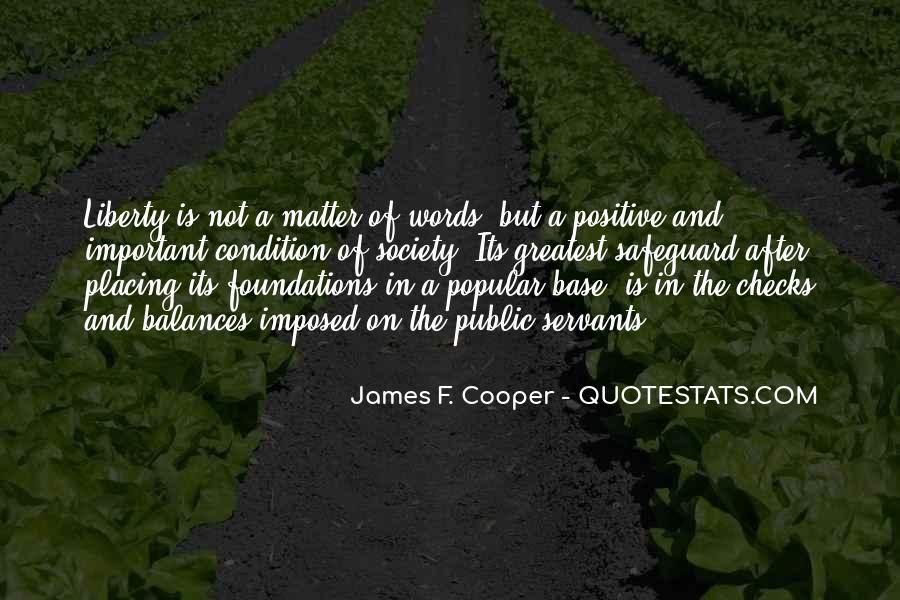 James F. Cooper Quotes #881083