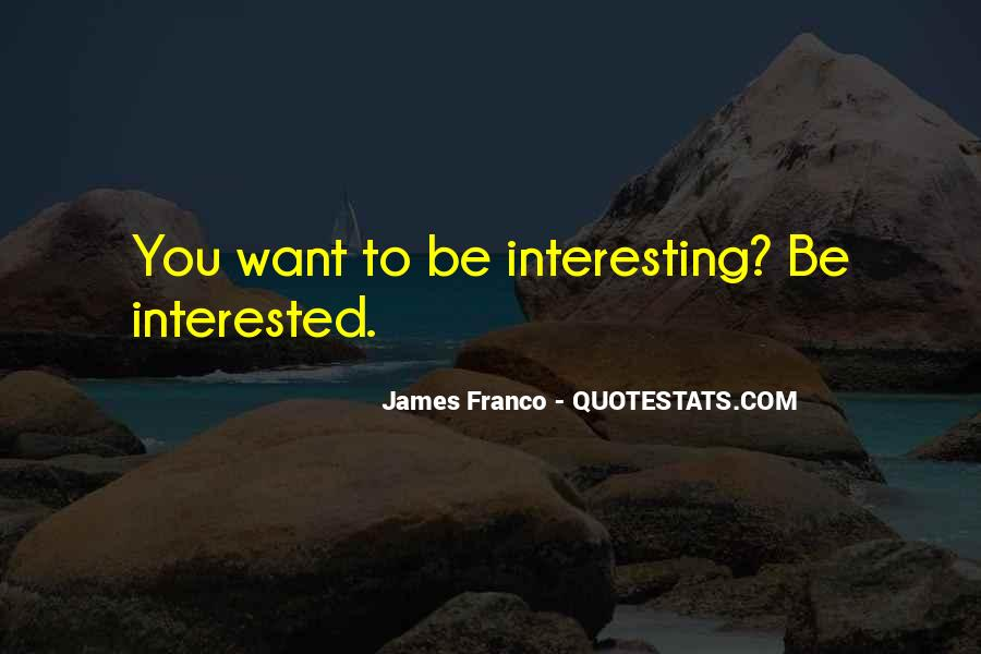 James Franco Quotes #1062325