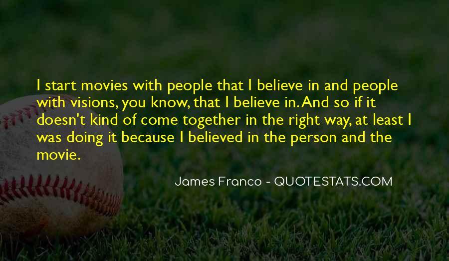 James Franco Quotes #1072521
