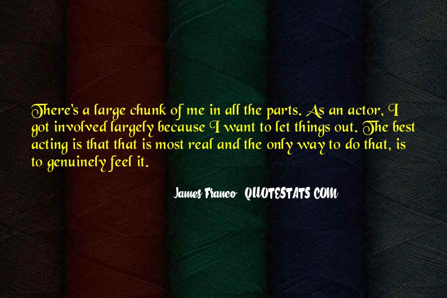 James Franco Quotes #1082599