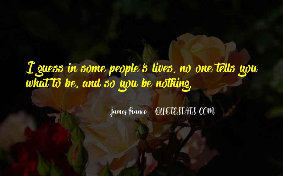 James Franco Quotes #138555