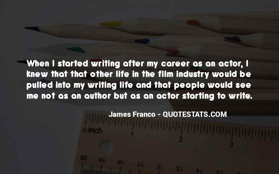 James Franco Quotes #1539408