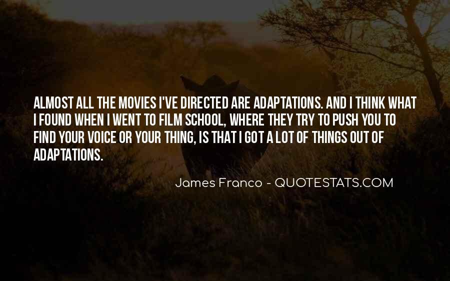 James Franco Quotes #1716460
