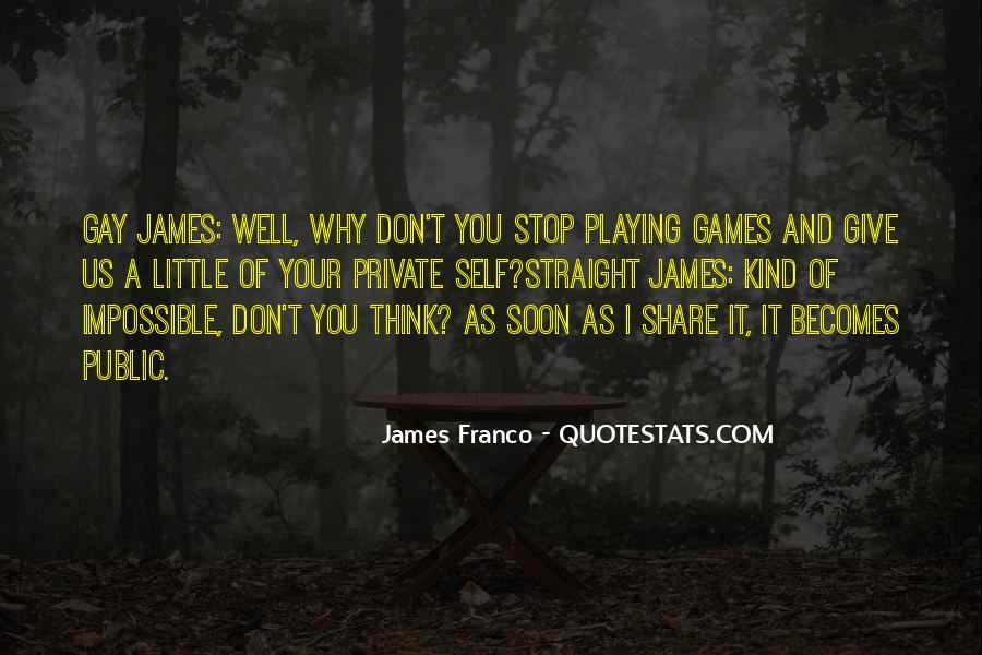James Franco Quotes #259509