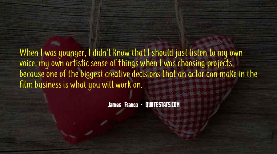James Franco Quotes #738095