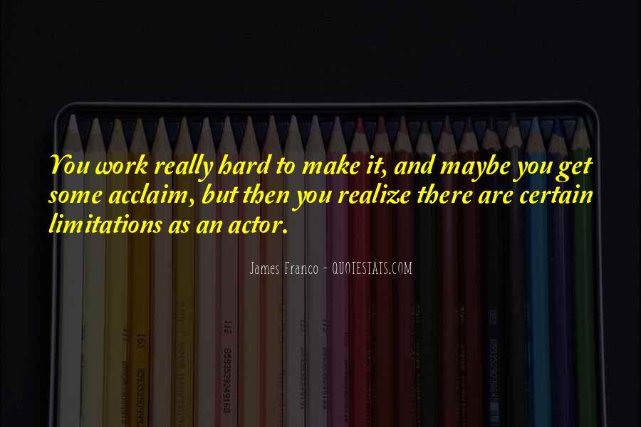 James Franco Quotes #849647