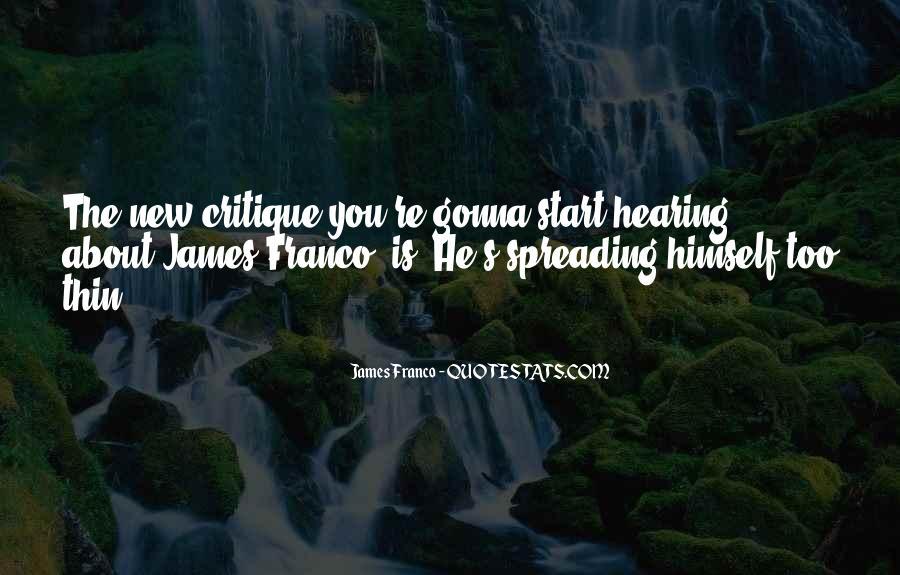 James Franco Quotes #880756