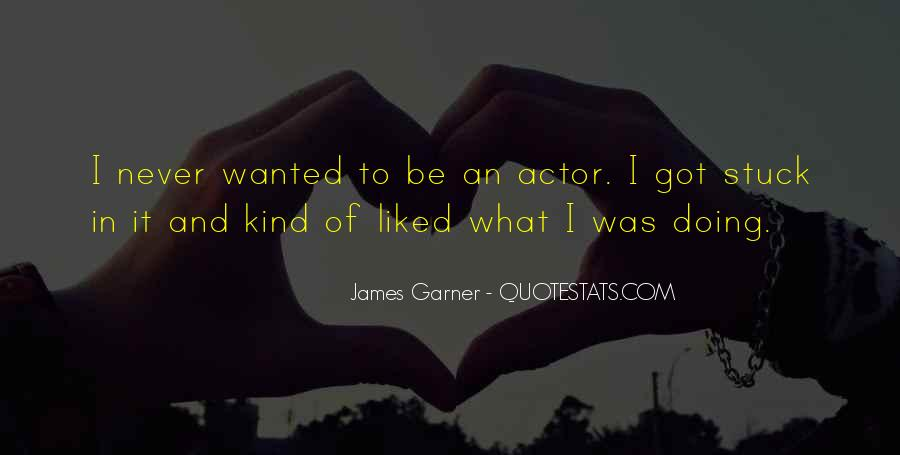James Garner Quotes #195983