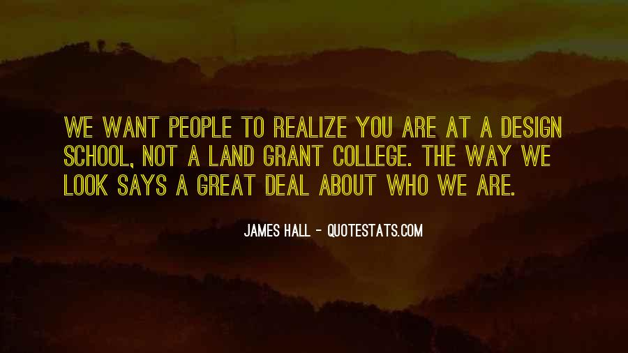 James Hall Quotes #1743059