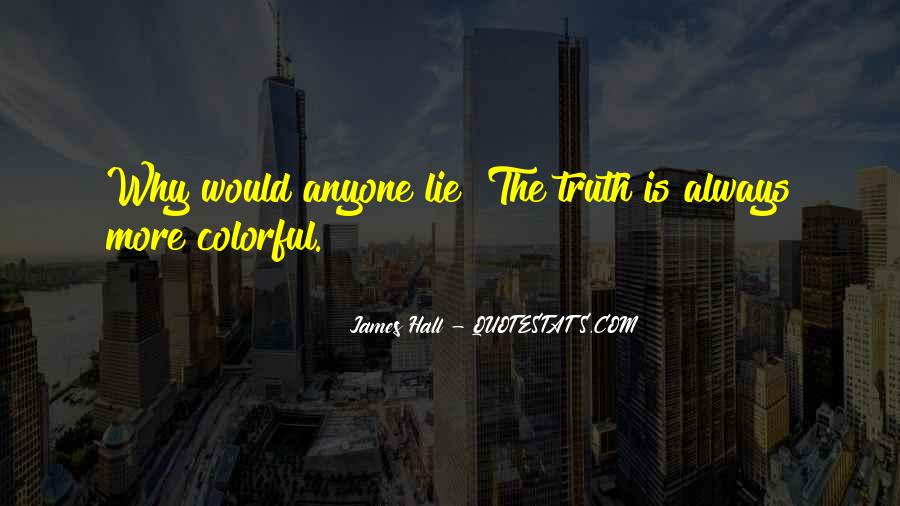 James Hall Quotes #776827