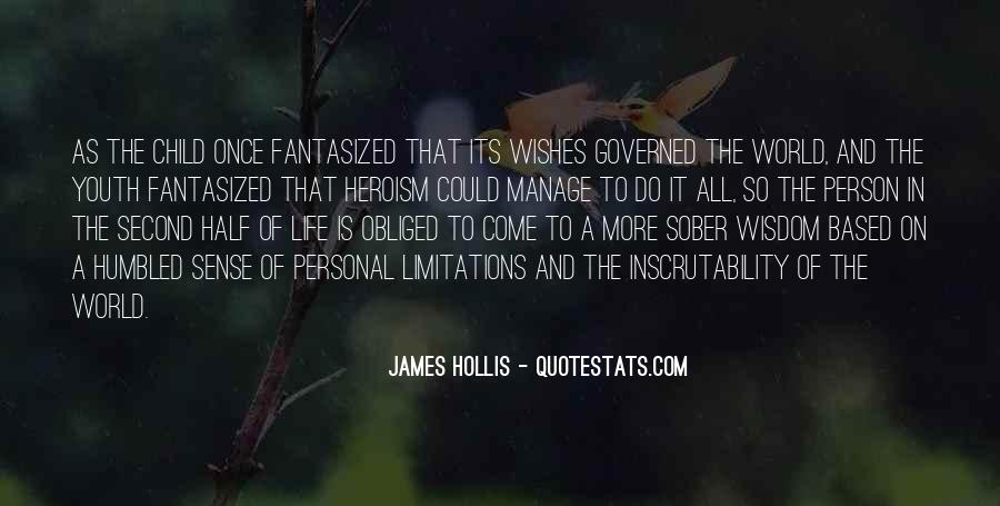 James Hollis Quotes #7188