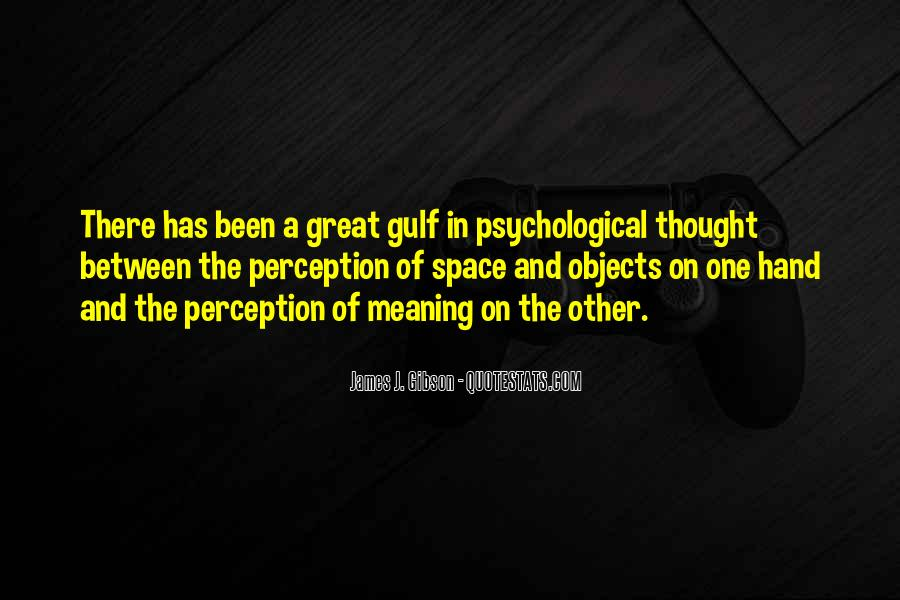 James J. Gibson Quotes #328805