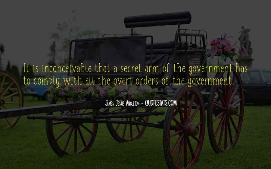 James Jesus Angleton Quotes #1851147