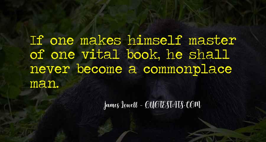 James Lowell Quotes #995771
