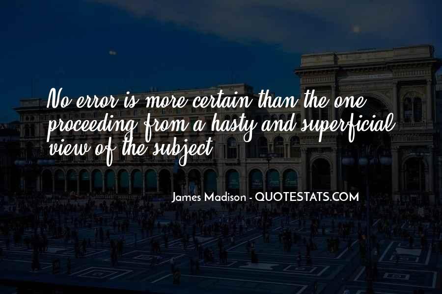 James Madison Quotes #123309