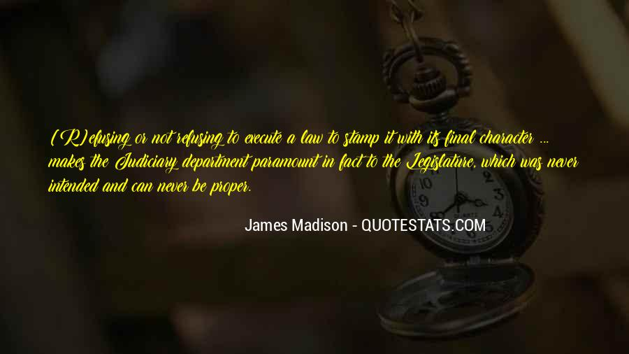 James Madison Quotes #1440506