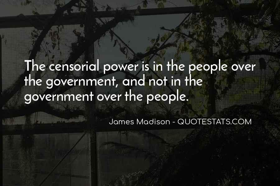 James Madison Quotes #350437