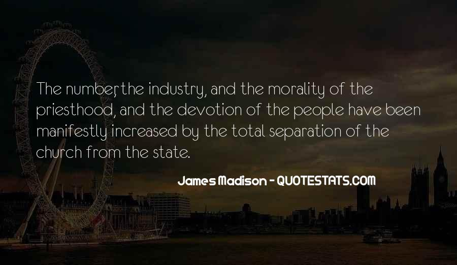 James Madison Quotes #399405