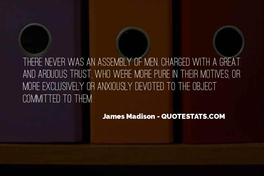 James Madison Quotes #478719