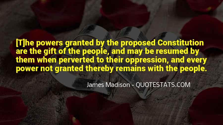 James Madison Quotes #698350