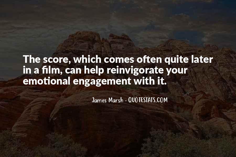 James Marsh Quotes #1473034