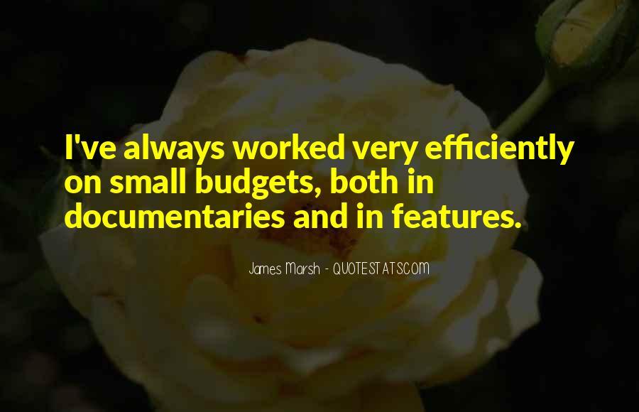 James Marsh Quotes #923687