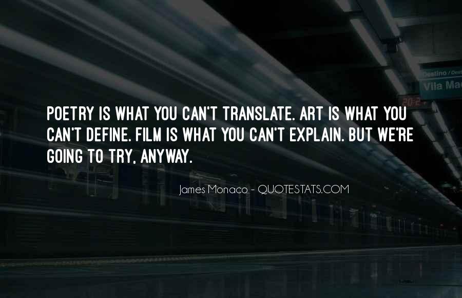 James Monaco Quotes #46271