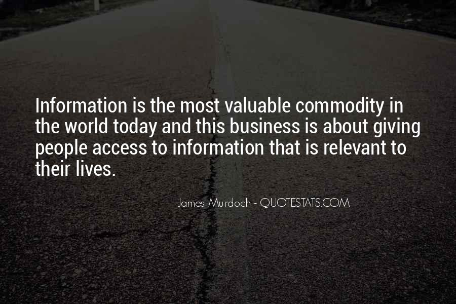 James Murdoch Quotes #898349