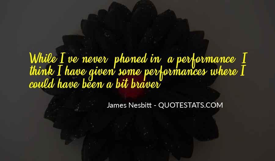 James Nesbitt Quotes #1062715