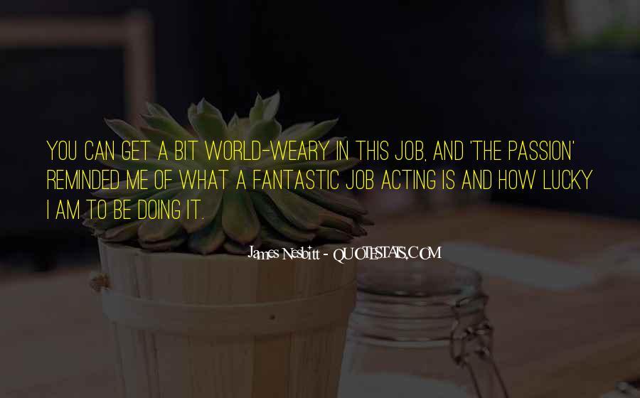 James Nesbitt Quotes #1771215