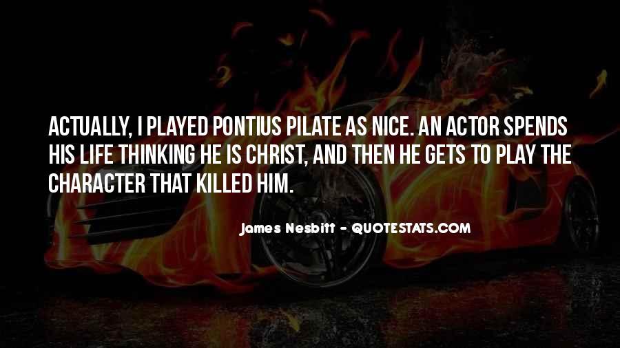 James Nesbitt Quotes #911456