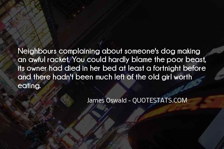 James Oswald Quotes #1373659