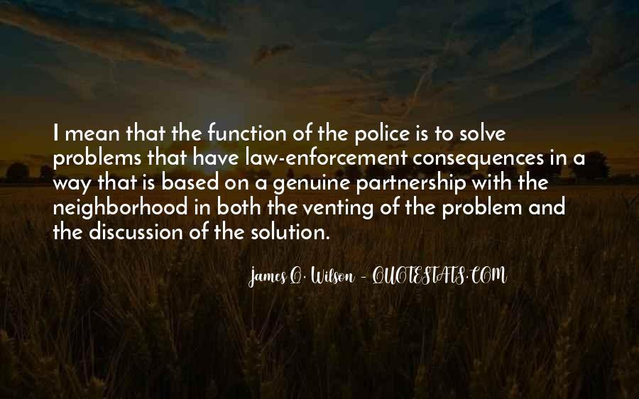 James Q. Wilson Quotes #1083436