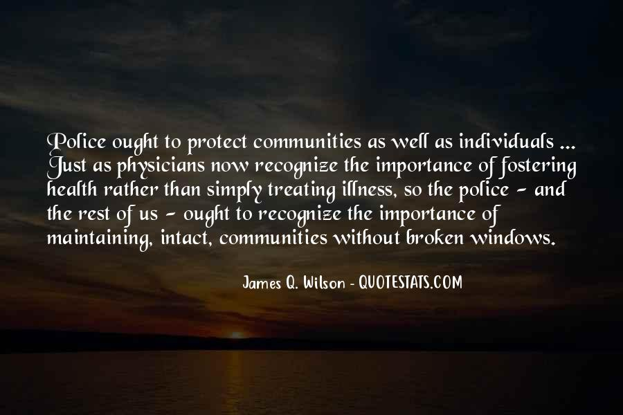 James Q. Wilson Quotes #1215120