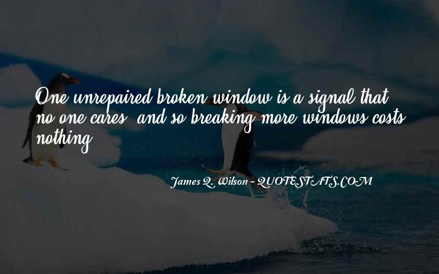 James Q. Wilson Quotes #1786048