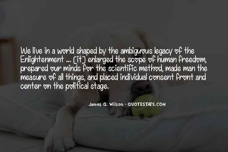 James Q. Wilson Quotes #289854