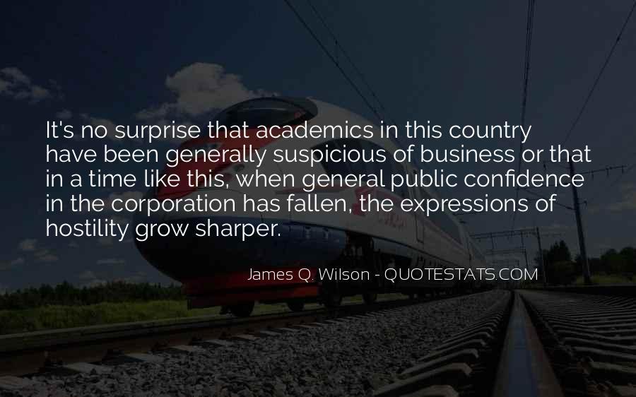 James Q. Wilson Quotes #301522