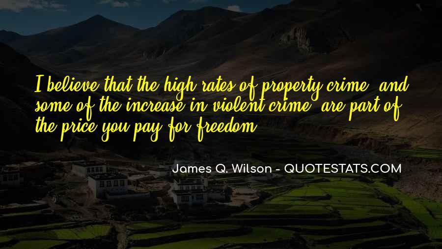 James Q. Wilson Quotes #621167