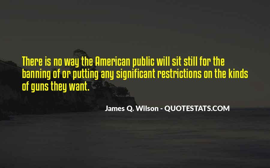 James Q. Wilson Quotes #931037